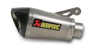details zu akrapovic shorty slip on exhaust system titanium bmw s1000r s1000rr