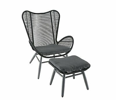 argos home butterfly garden chair and
