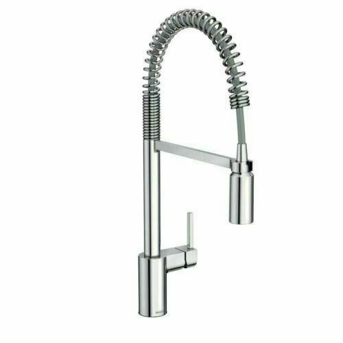 moen 5923 align pre rinse high arc kitchen faucet w powerclean for sale online ebay