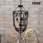 French Scroll 3lt Chandelier Vintage Foyer Pendant Light Black Chain Suspension 615311574784 Ebay