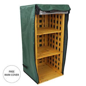 details about firewood log storage rack outdoor garden shed wooden shed holder shelf stand