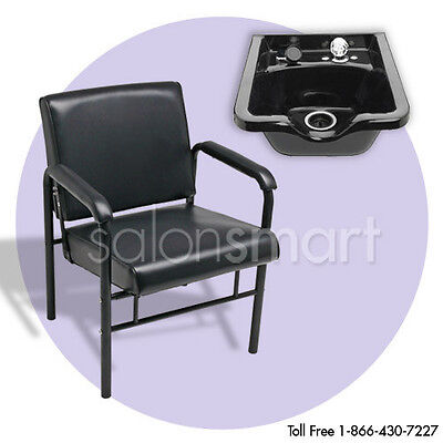 shampoo bowl sink chair package salon equipment arcb ebay