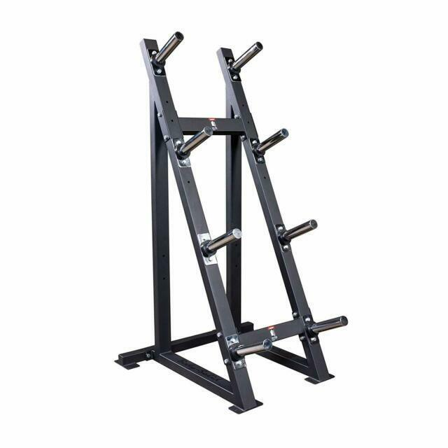 body solid high capacity olympic plate rack gwt76 modular weight storage unit
