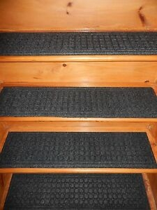 1 Step 8 1 2 X 35 Indoor Outdoor Stair Treads Non Slip 100   Indoor Outdoor Stair Treads   Rubber Cal   Slip Backing   Waterhog   Nance Industries   Ellsworth Indoor