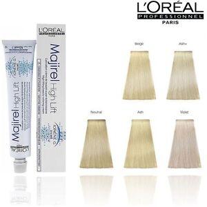 Loreal Majirel Highlift Hair Colour Dye Permanant 50ml Official Loreal Stockists Ebay