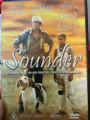 Sounder region 4 DVD (1972 Cicely Tyson family drama movie ...