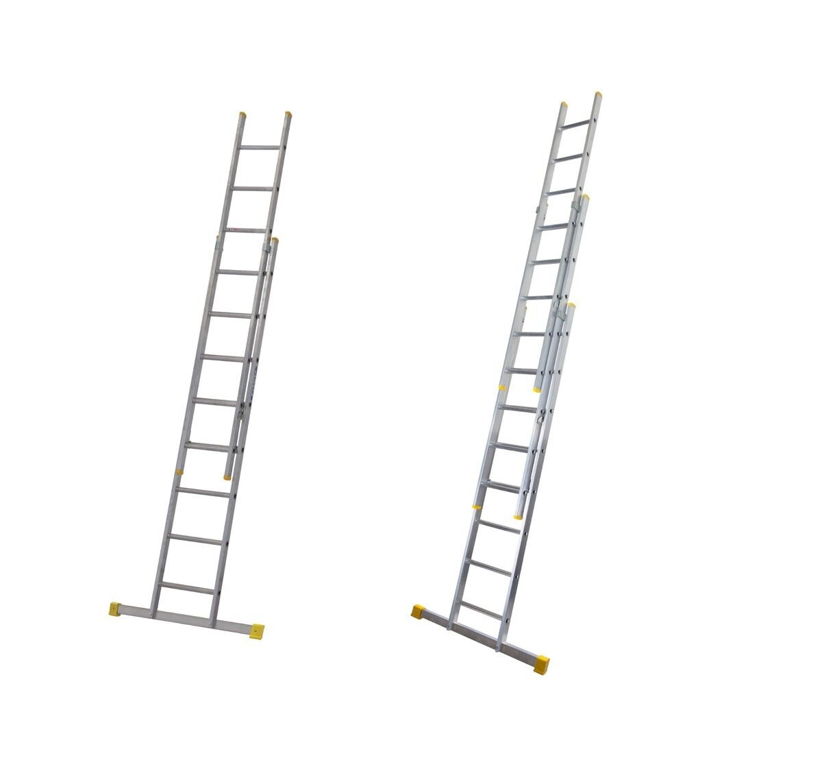 Werner Extension Ladders Heavy Duty En131 Triple Amp Double