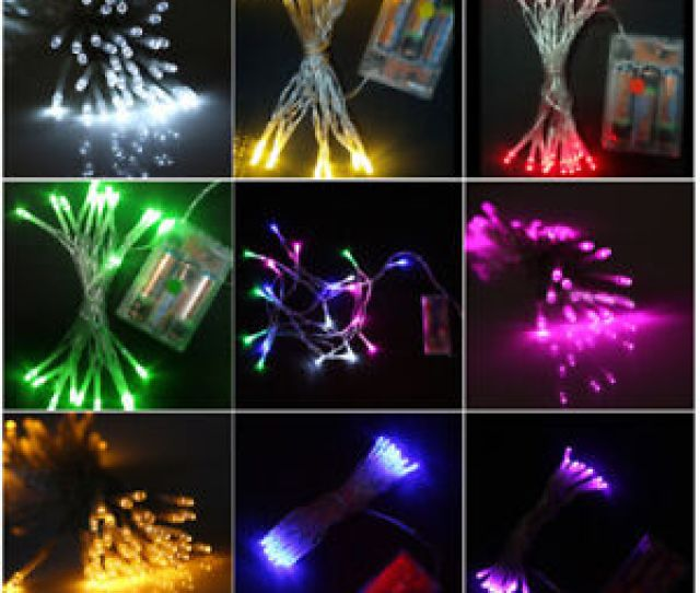 Image Is Loading 10m Led String Fairy Light Battery Operated Xmas