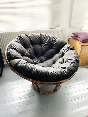 papasan chair cushion seat pad cushion hq ebay