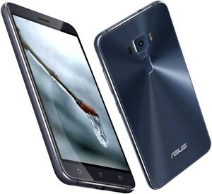 "Asus Zenfone 3 ZE520KL 32GB Black 16MP 5.2"" 3GB RAM Android Phone By FedEx"