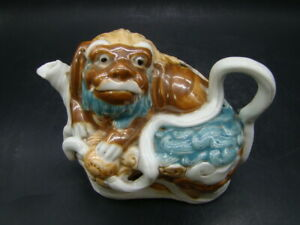 Chinese 19th century nice decorated foo dog shape water dropper a239