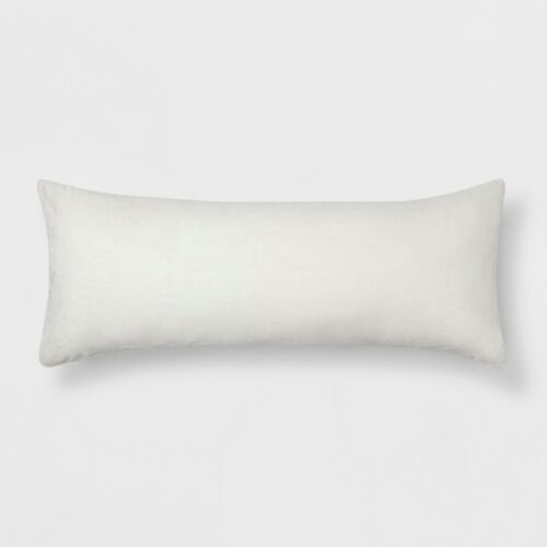beddengoed bedlinnen plush body pillow cover sour cream new luxclusif com