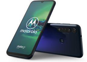 MOTOROLA Moto g8 Plus 6,3 Zoll 64 GB 48 MP Triple-Kamera cosmic blue blau B-WARE