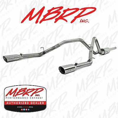 mbrp s5084409 3 cat back dual exhaust kit 2014 2018 silverado 1500 4 3l 5 3l ebay