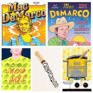 details zu mac demarco posters music concert posters salad days viceroy a4 a5 art