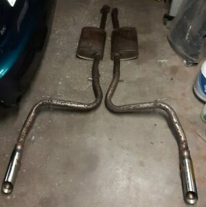 details about 2003 2004 mustang cobra oem stock exhaust catback terminator exhaust system