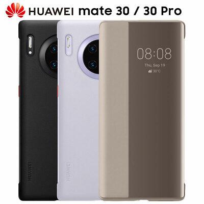 100 Official Original Smart View Window Flip Cover Huawei Mate 30 Pro 5g Case Ebay