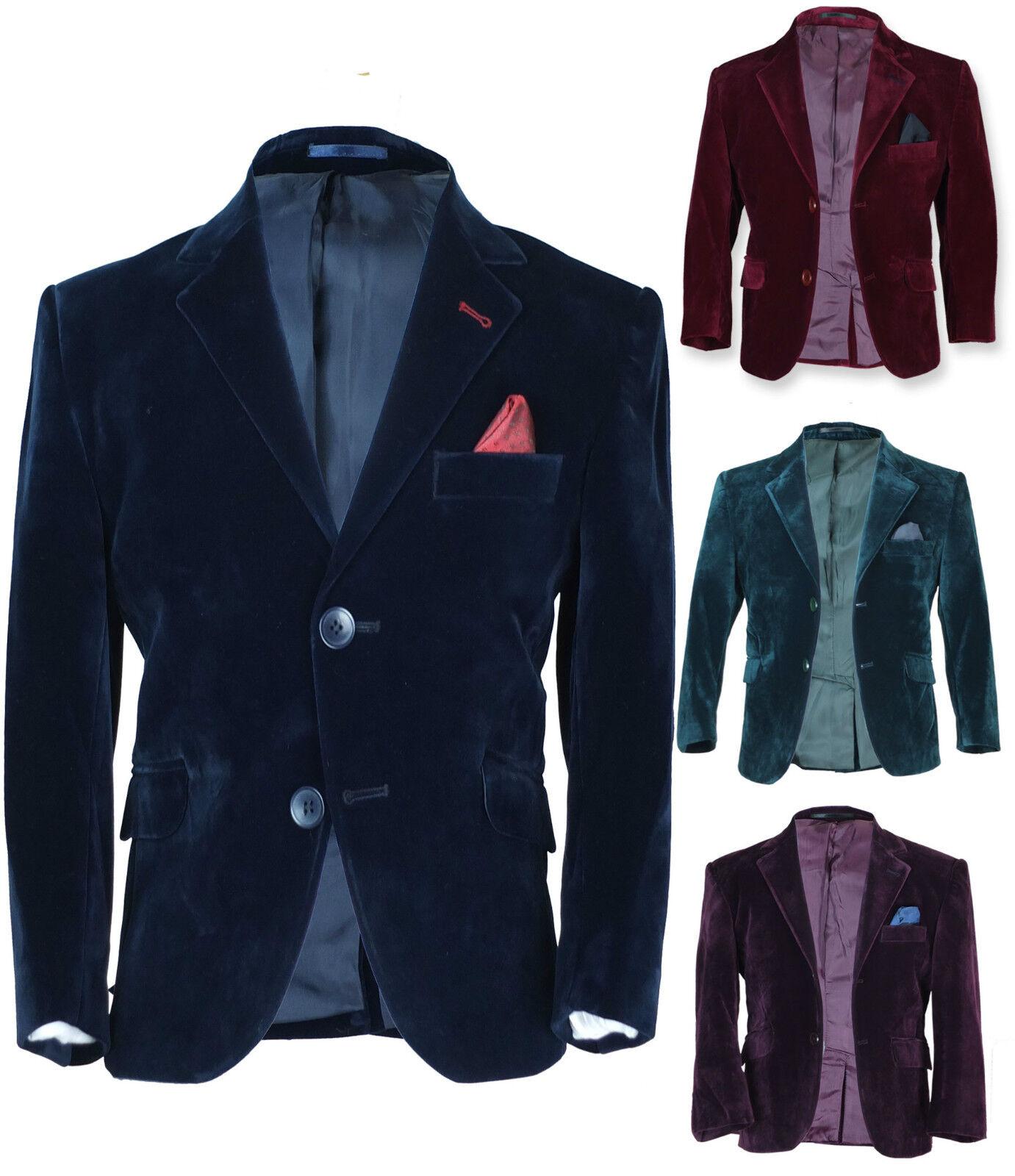 5 Black Boys Velvet Vest Size