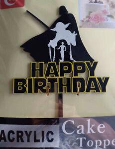 Star Wars Star Wars Cake Topper Star Wars Birthday Free Shipping Ebay
