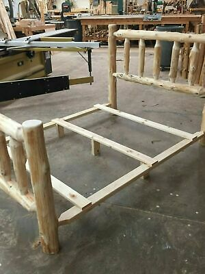 bed slats for our rustic cedar log beds and bed frame kits usa handcrafted ebay