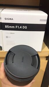 New Sigma Art 85mm F/1.4 HSM DG Lens For Canon 6D Mark II 80D 5D Mark IV