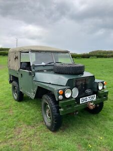 Land Rover Lightweight. 1969. Good running project.