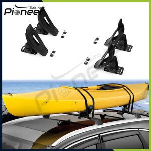 details about fits for vw volkswagen atlas 2018 2019 kayak canoe roof rack arm carrier holder