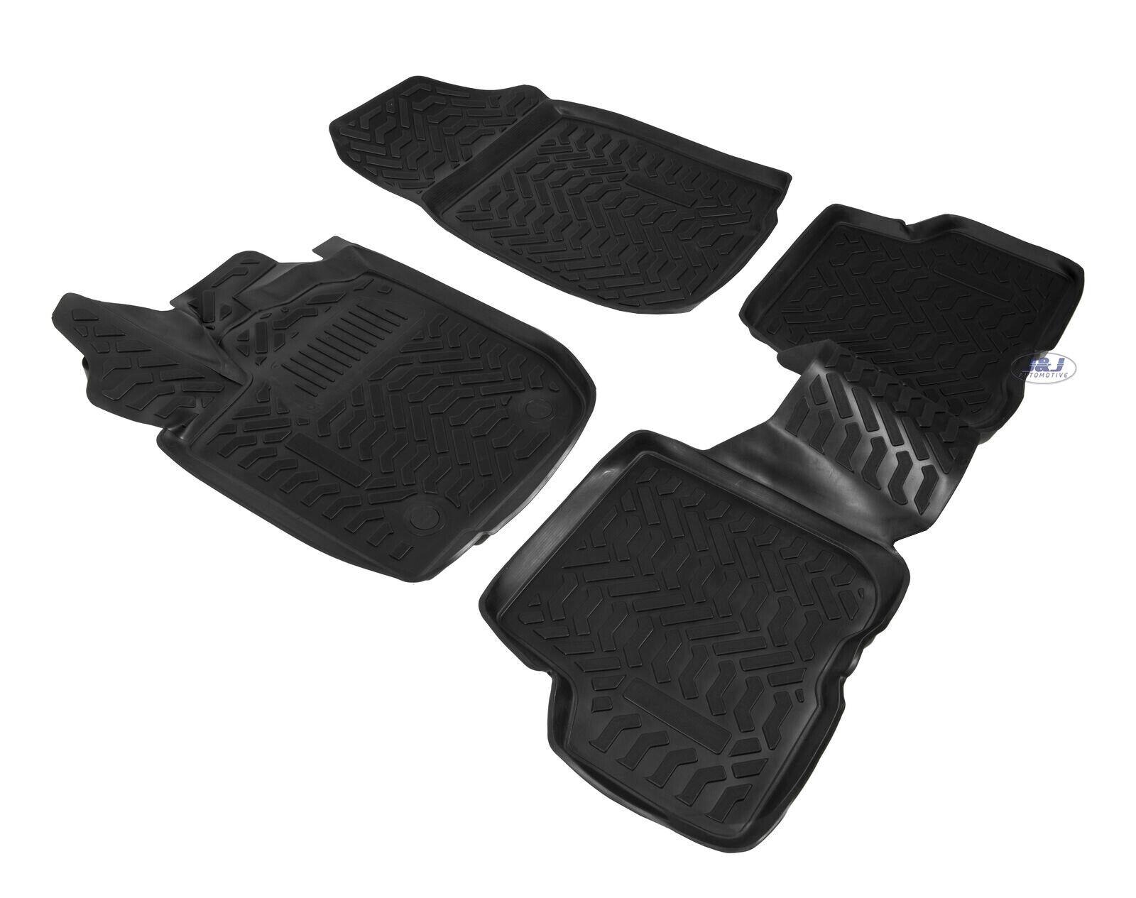 details sur 3d exclusive tapis de sol en caoutchouc noir dacia sandero stepway ii 2012 2020