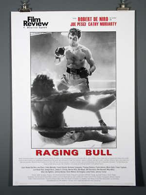 raging bull film poster robert deniro ebay