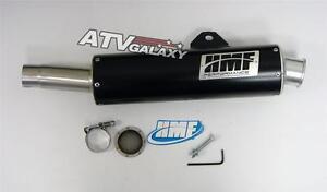 details about hmf performance exhaust pipe slip on muffler yamaha raptor 700 2006 2014