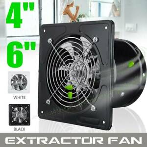 details about 4 6 inline duct ventilator booster kitchen extractor exhaust fan air blower