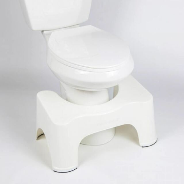 Toilet Squatty Step Stool Bathroom Potty Squat Aid For Constipation Piles Relief For Sale Online Ebay