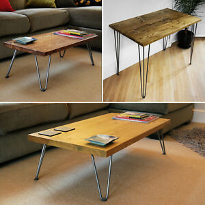 hairpin legs coffee table side table