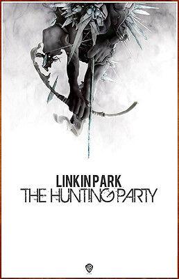 linkin park the hunting party ltd ed rare tour poster bonus rock metal poster ebay