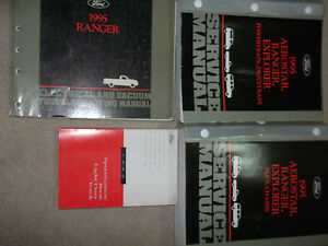 1995 Ford RANGER TRUCK Service Shop Repair Manual Set W WIRING DIAGRAM MANUAL | eBay