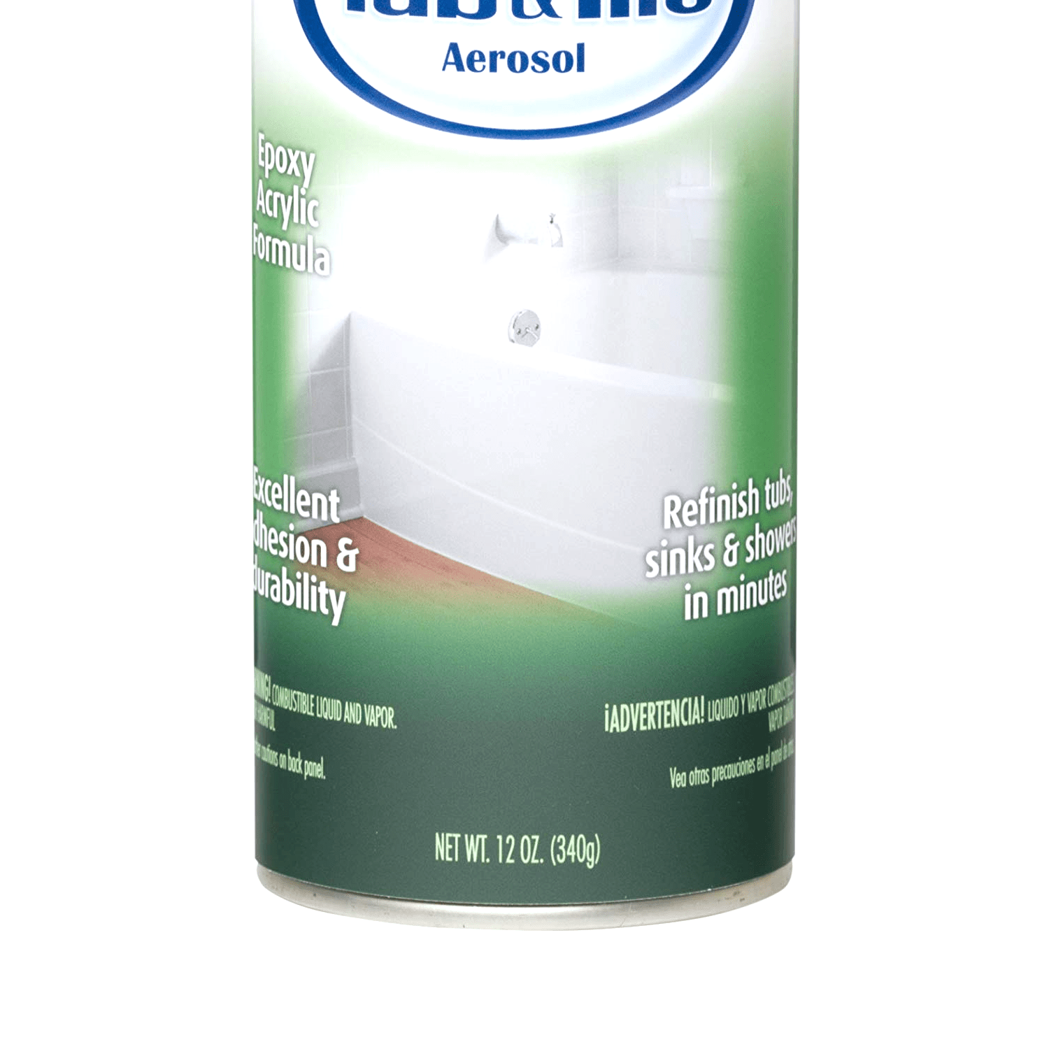 rust oleum 280882 specialty tub and tile spray paint 12 ounce 12 oz white