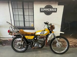 Yamaha DT400 1975 2 Stroke Barn Find Restoration Project Spares or Repair