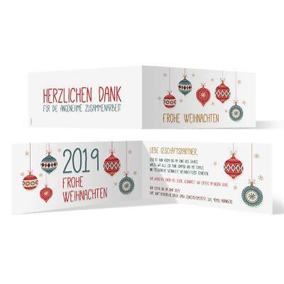 Individuelle Klappkarten Einladungskarten Grusskarten