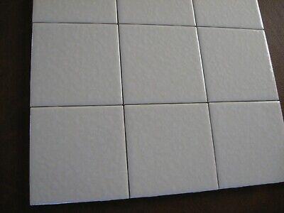 unused dal tile mayan white on white field tile 4 1 4 x 4 1 4 bumpy splatter 81516000494 ebay