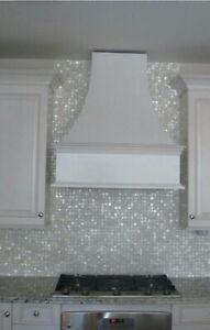 details about seamless mother of pearl shell mosaic tile kitchen bathroom backsplash sheet
