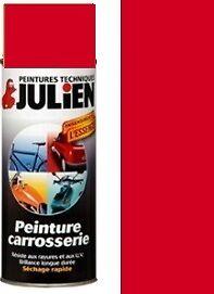 Peinture Bombe Auto Carrosserie Vehidecor Julien Rouge Ebay