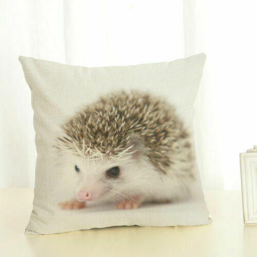 home decor home car koala pillow case hedgehog cotton linen decoration animal cushion cover home decor pillows