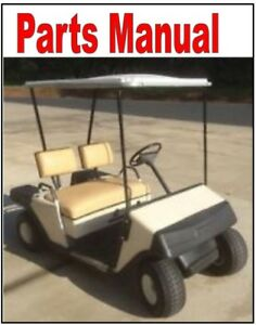 Parts Manual Golf Cart Ezgo Ez Go