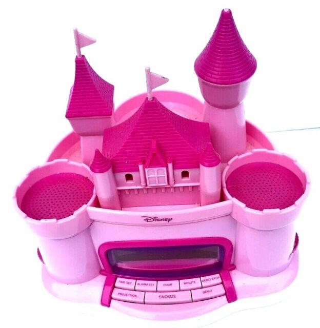 Disney Princess Alarm Clock Radio Am Fm