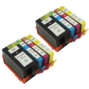 8 Pack Ink Cartridge For Hp 920xl Hp920 Xl Officejet 6000
