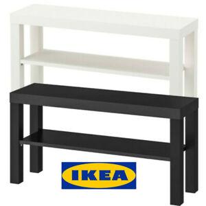 Ikea Lack Banc Tv Table Support Lcd Del Lit Salon 90x26cm 2 Couleurs Ebay