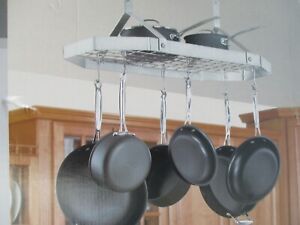 Below are 13 best pictures collection of pot racks ikea photo in high resolution. Cuisinart Stainless Steel Octagonal Hanging Rack New Ebay