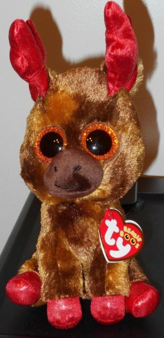 34aa1c40984 Ty Beanie Boos – MAPLE the Moose 6″ (Canada Exclusive) NEW MWMT ...