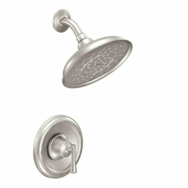 moen ashville 82968srn shower faucet valve spot resist brushed nickel