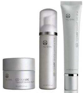 Tecnología antienvejecimiento Nu Skin ageLOC ® elementos Set-CLEANSE & Tono, radiante día y ...